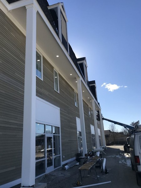 Nahant Siding installation by Winter Hill General Contractor Inc